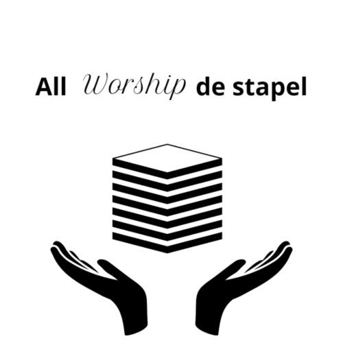 All worship de stapel - Mannen Premium T-shirt