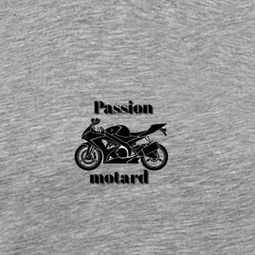 Passion motard - T-shirt Premium Homme