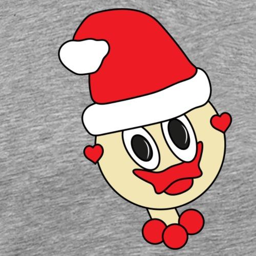 weihnachtsgirl herz - Männer Premium T-Shirt