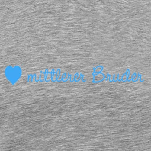 mittlerer Bruder - Männer Premium T-Shirt