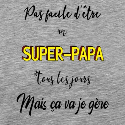 Super-papa - T-shirt Premium Homme