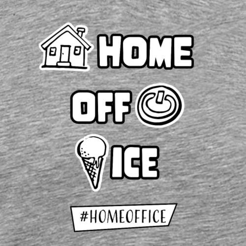 Home Off Ice - Männer Premium T-Shirt
