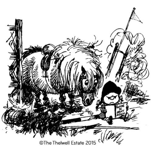 PonyFail Thelwell Cartoon - Men's Premium T-Shirt