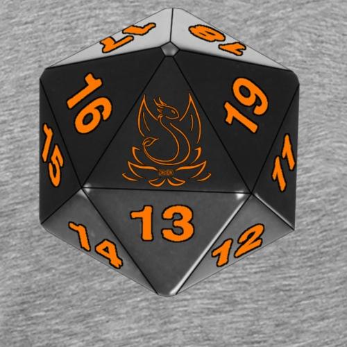 Game orange - T-shirt Premium Homme