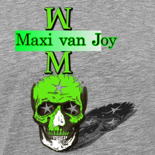 skull maxi of joy2 - Men's Premium T-Shirt
