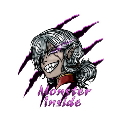 Monster Inside - T-shirt Premium Homme