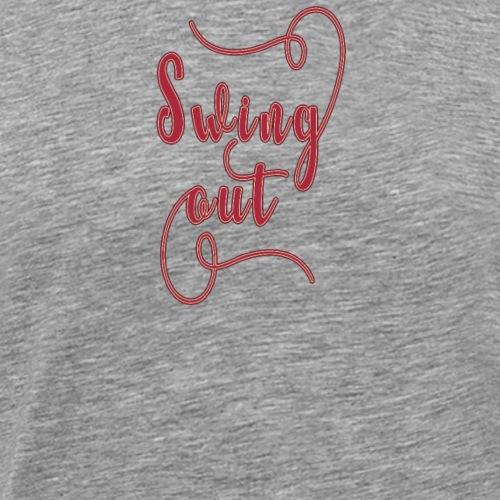 Swing Out Lindy Hop Vintage - Swing Retro - Männer Premium T-Shirt