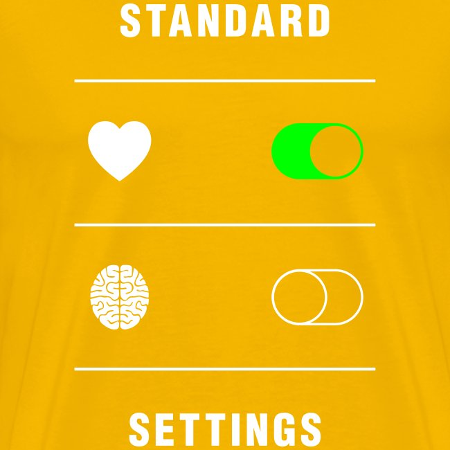 standard settings