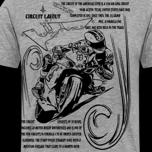Motorrad Kollektion Circuit of the Americas Black