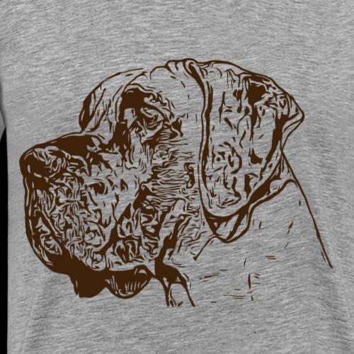 Hund Hundekollektion Dogge Dunkelbraun