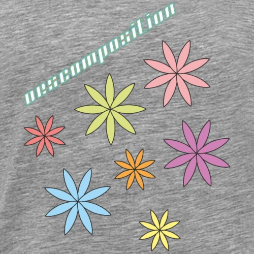 SOLRAC composition - Camiseta premium hombre