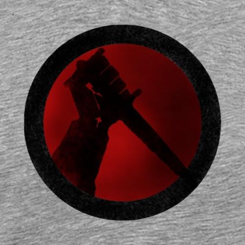Rondel Dagger No Text - Men's Premium T-Shirt