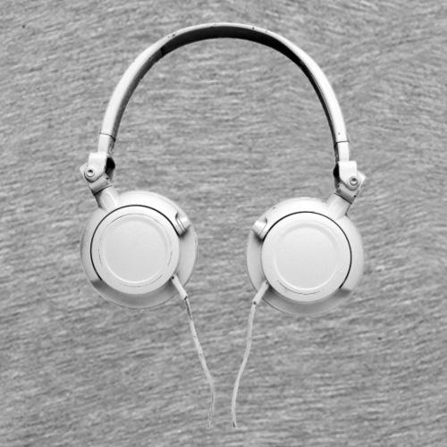 HipHop Retro Kopfhörer - Männer Premium T-Shirt