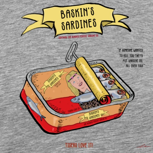 Baskin's Sardines - Men's Premium T-Shirt