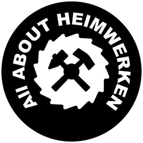 ALL ABOUT HEIMWERKEN - LOGO - Männer Premium T-Shirt