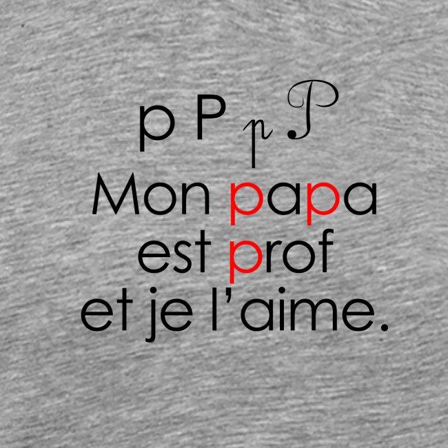 Le son P comme Papa