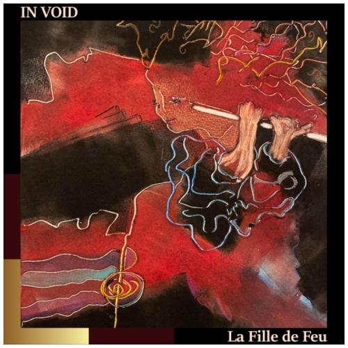 Cover In Void, La Fille de Feu (Fire Girl) - Men's Premium T-Shirt