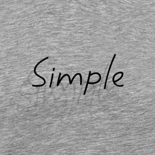 Simple - T-shirt Premium Homme