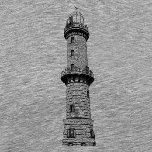 Leuchtturm Warnemünde - Männer Premium T-Shirt