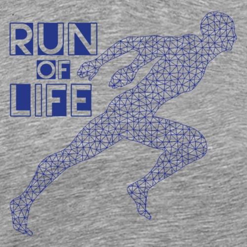 Run of life - Männer Premium T-Shirt