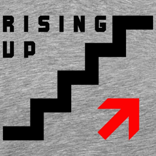 RISING UP - Männer Premium T-Shirt