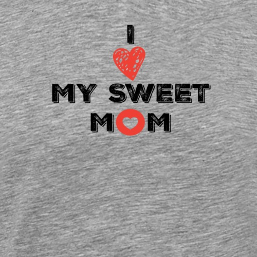 Yo amo a mi Mama - Camiseta premium hombre
