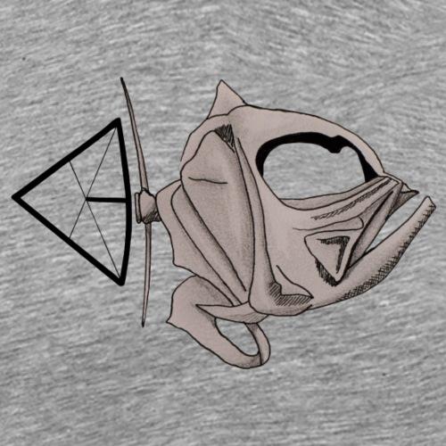 Fischschädel - Männer Premium T-Shirt