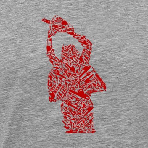 Motorsäge - Männer Premium T-Shirt