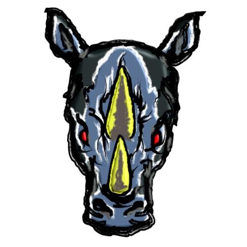 Angry Rhino - Männer Premium T-Shirt