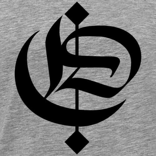 Logo negro DCCC - Camiseta premium hombre