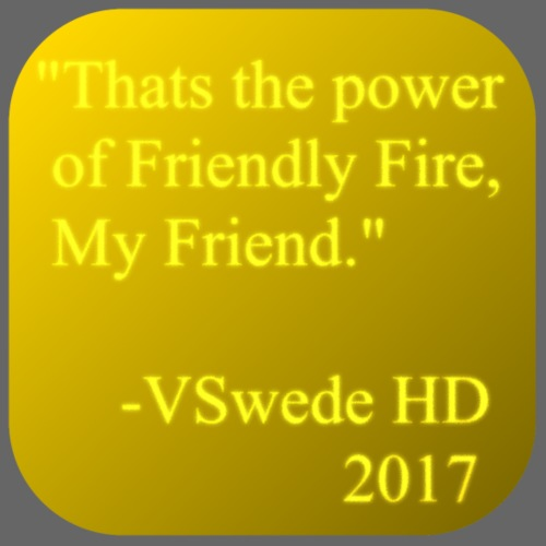 The Power of Friendly Fire - Men's Premium T-Shirt