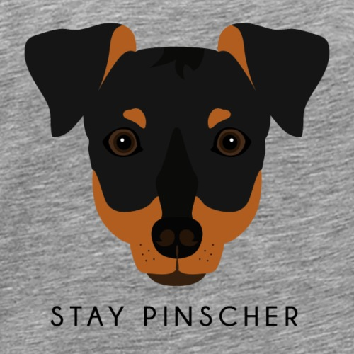Pinscher - Black - Maglietta Premium da uomo