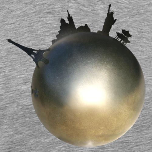 Boule de Pétanque Mondial - T-shirt Premium Homme