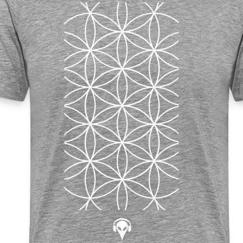 Deritorisada - The flower of the beginning - Men's Premium T-Shirt