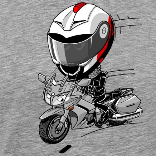 FJR1300 full color - Mannen Premium T-shirt