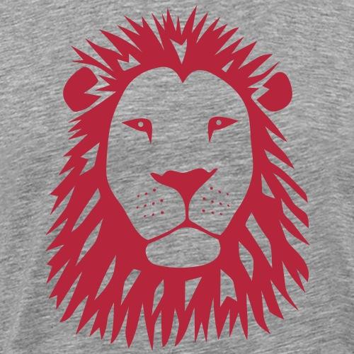 löwe tiger lion katze räuber raubtier beute afrika - Männer Premium T-Shirt