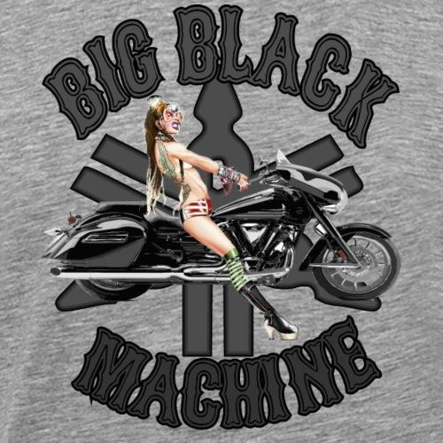 Big Black Machine - Mannen Premium T-shirt