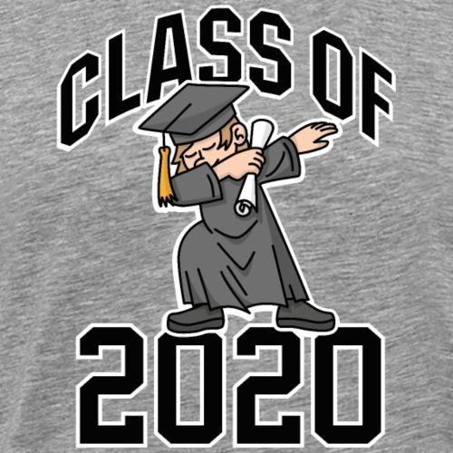 Class of 2020 DAB DABBING Abschluss Geschenk - Mannen Premium T-shirt