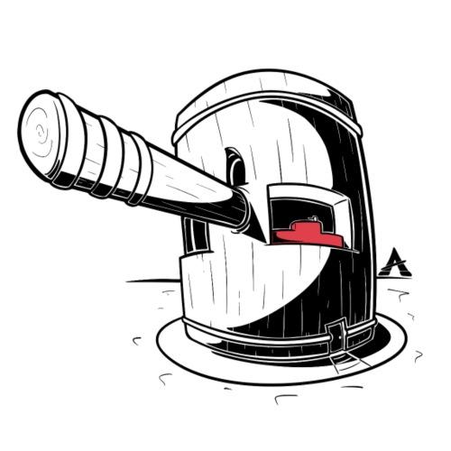 Le marteau du Tribunal - T-shirt Premium Homme