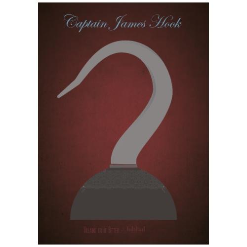 Captain James Hook - Maglietta Premium da uomo