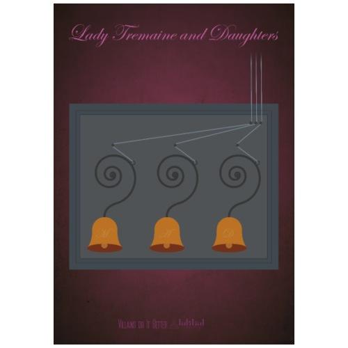 Lady Tremains and Daughtars - Maglietta Premium da uomo