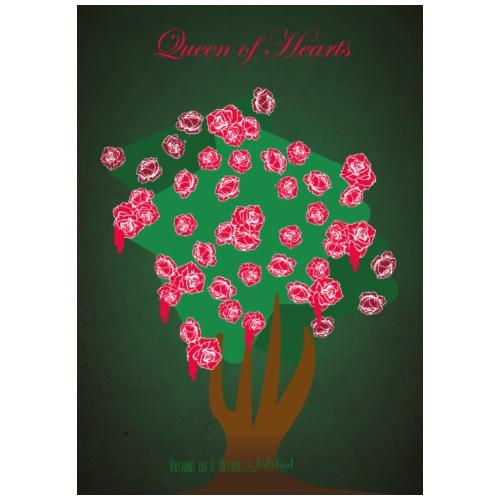 Queen of Hearts - Maglietta Premium da uomo