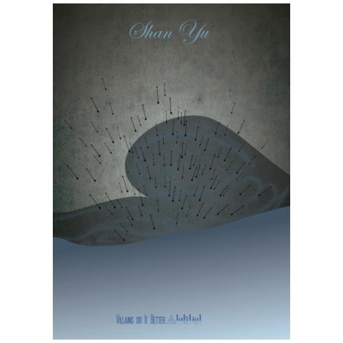 Shan Yu - Maglietta Premium da uomo