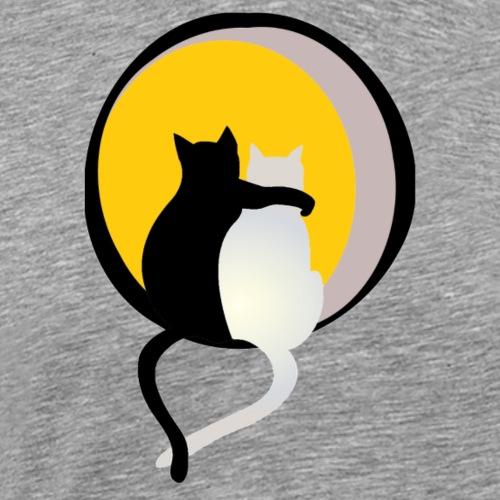 Katzenliebe - Männer Premium T-Shirt