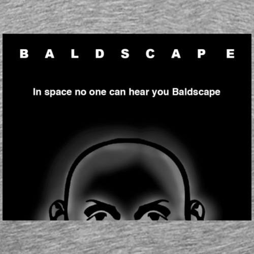 baldscape alien 2 - Men's Premium T-Shirt