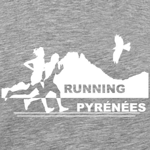 RunningPyrénéesHFVersion1.png - T-shirt Premium Homme