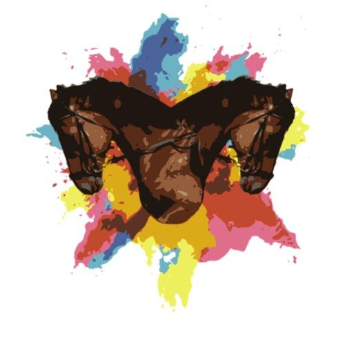 Cheval coloré - T-shirt Premium Homme