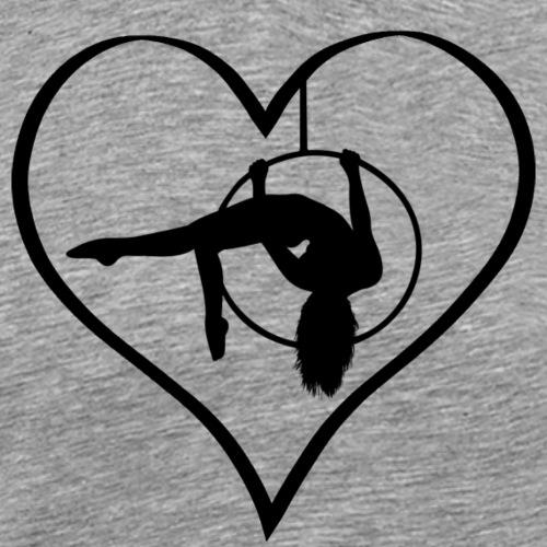 Heart & Hoop - Männer Premium T-Shirt