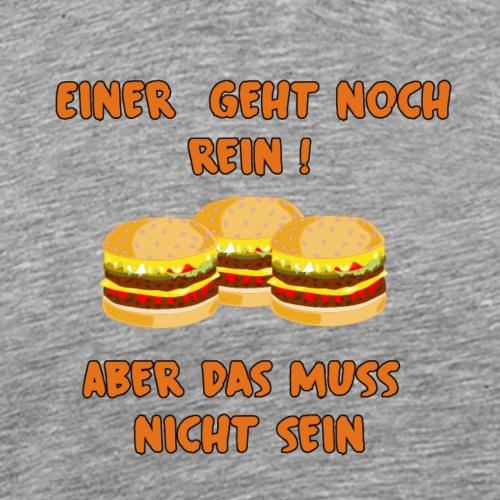 Burger muss rein