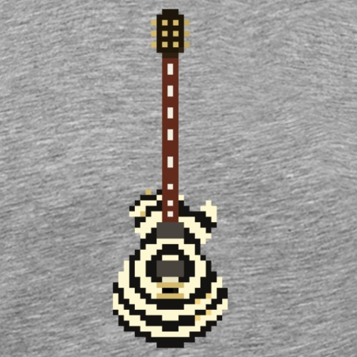 Zakk Gibson Les Paul Signature - pixel art - Men's Premium T-Shirt